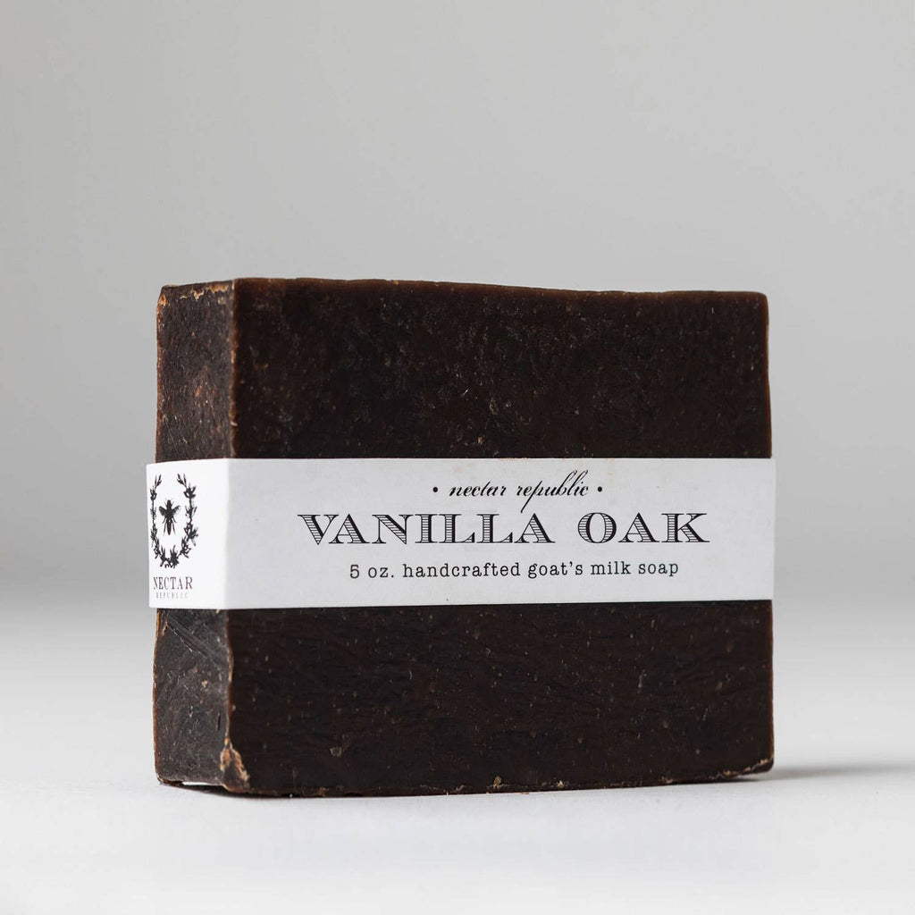 Vanilla Oak Bath Soap