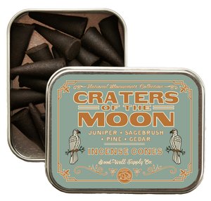 Craters of the Moon Incense
