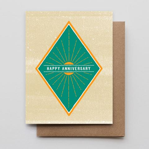 Anniversary Sunburst Card
