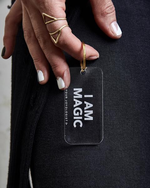 I Am Magic Keychain