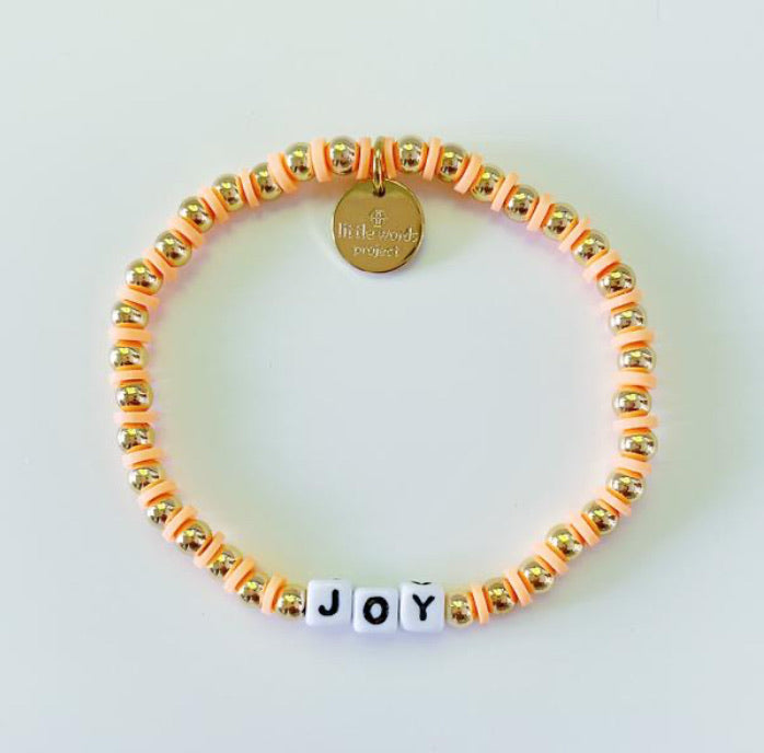 Little Words Joy Bracelet