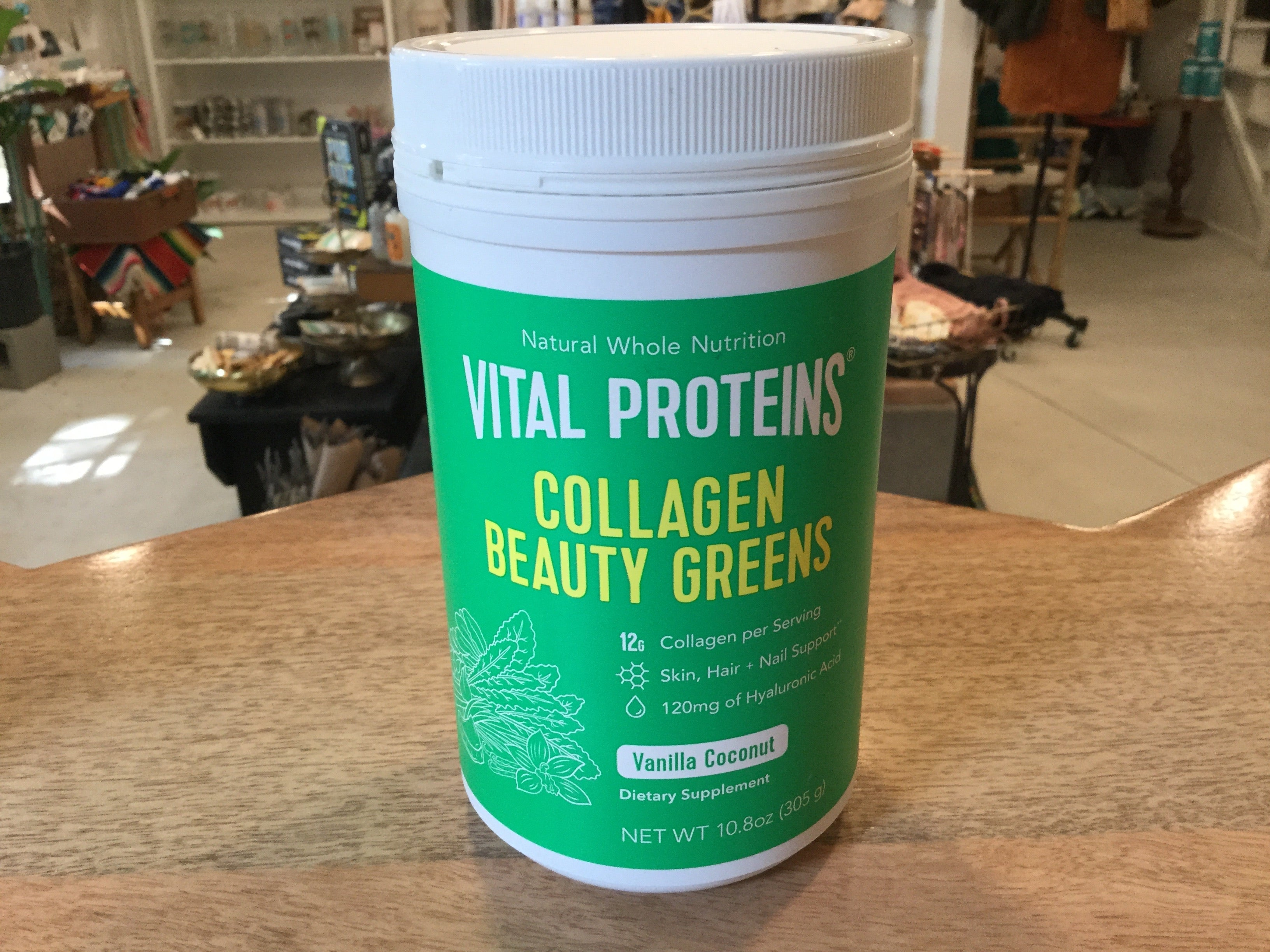 Vanilla Coconut Collagen Beauty Greens