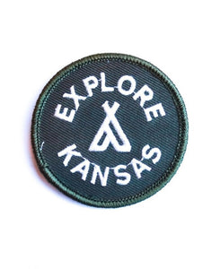 Explore Kansas Circle Patch