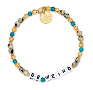 Little Words Be Weird Bracelet