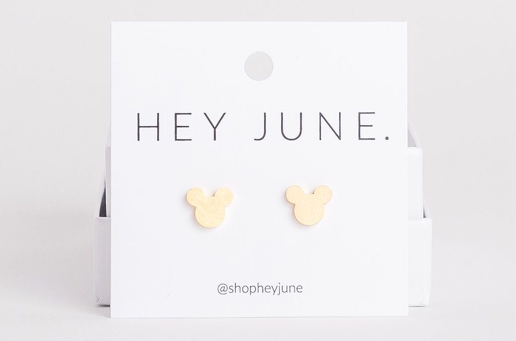 Mickey Mouse Studs