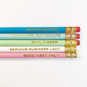 Get it Girl Pencil Sets