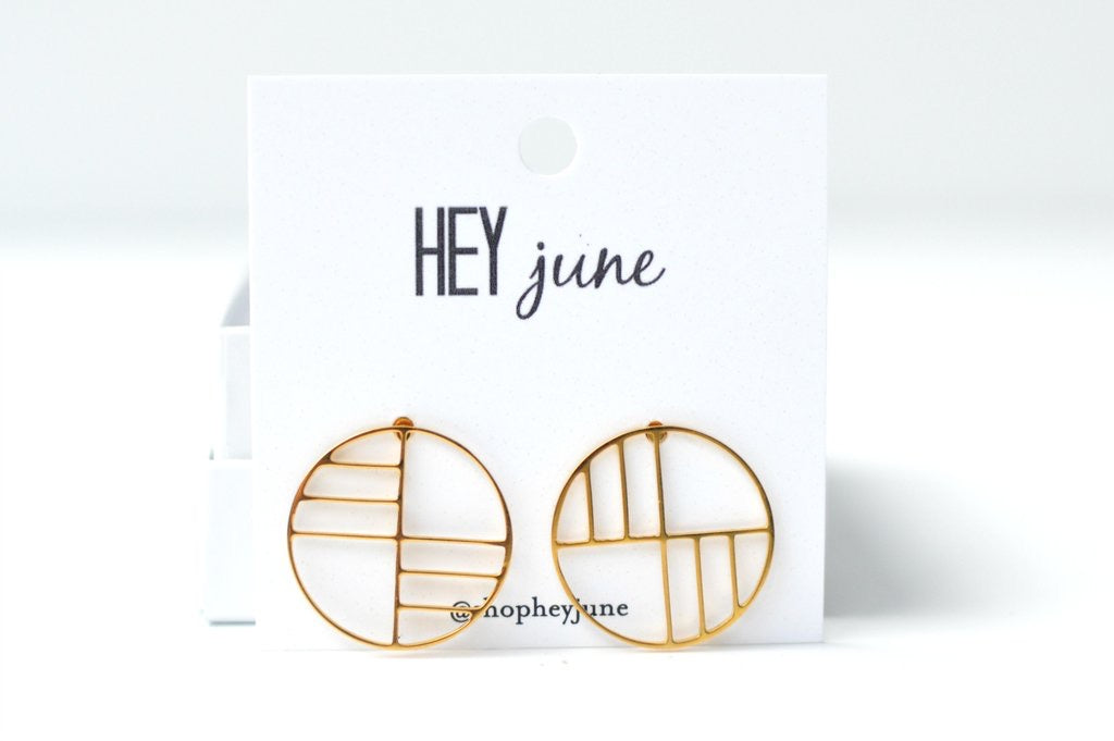 Siren Stud Earrings