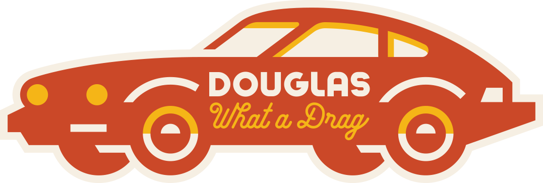 Douglas Avenue Car Sticker