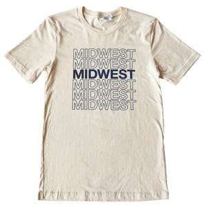 Midwest Stacked Tee