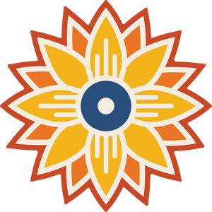 Wichita Sunflower Sticker
