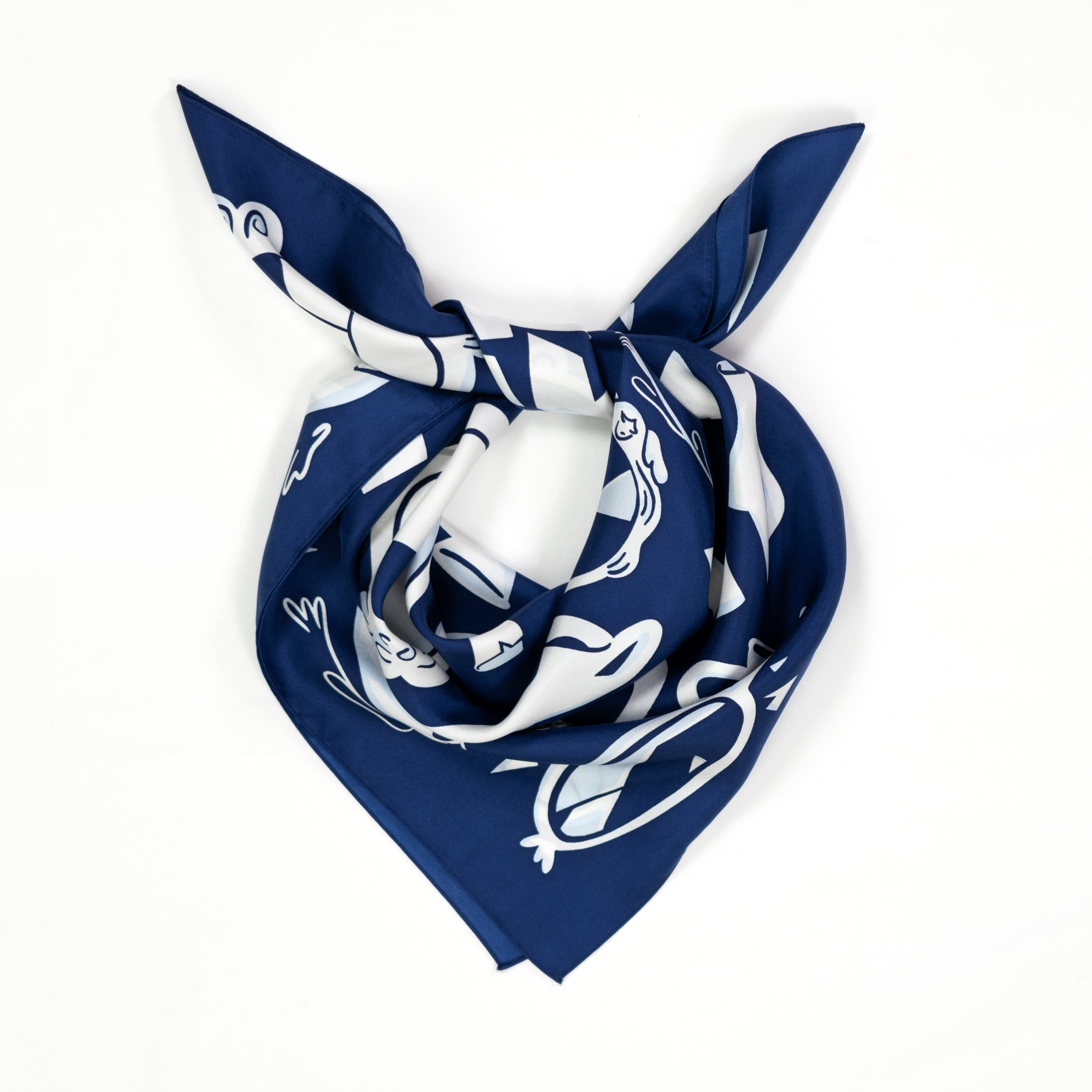 Broken Silk Scarf