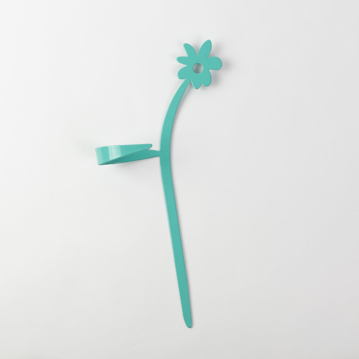 May Flowers Plant Support Stake Turquoise Green