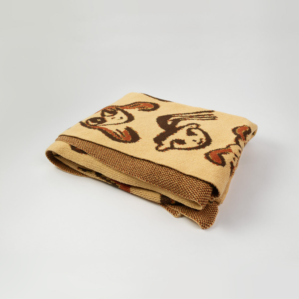 Funny Faces Blanket