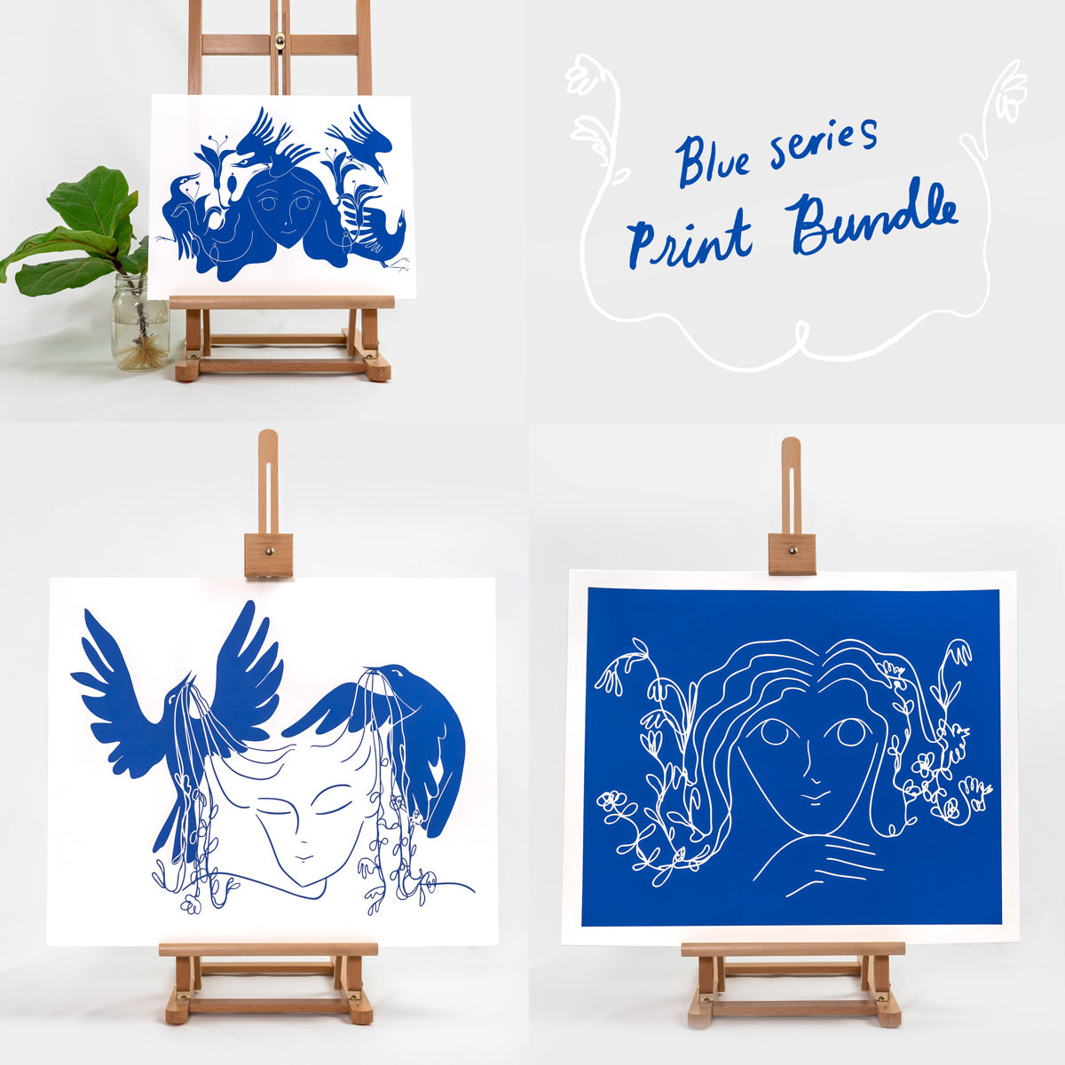 Blue Series Print Bundle