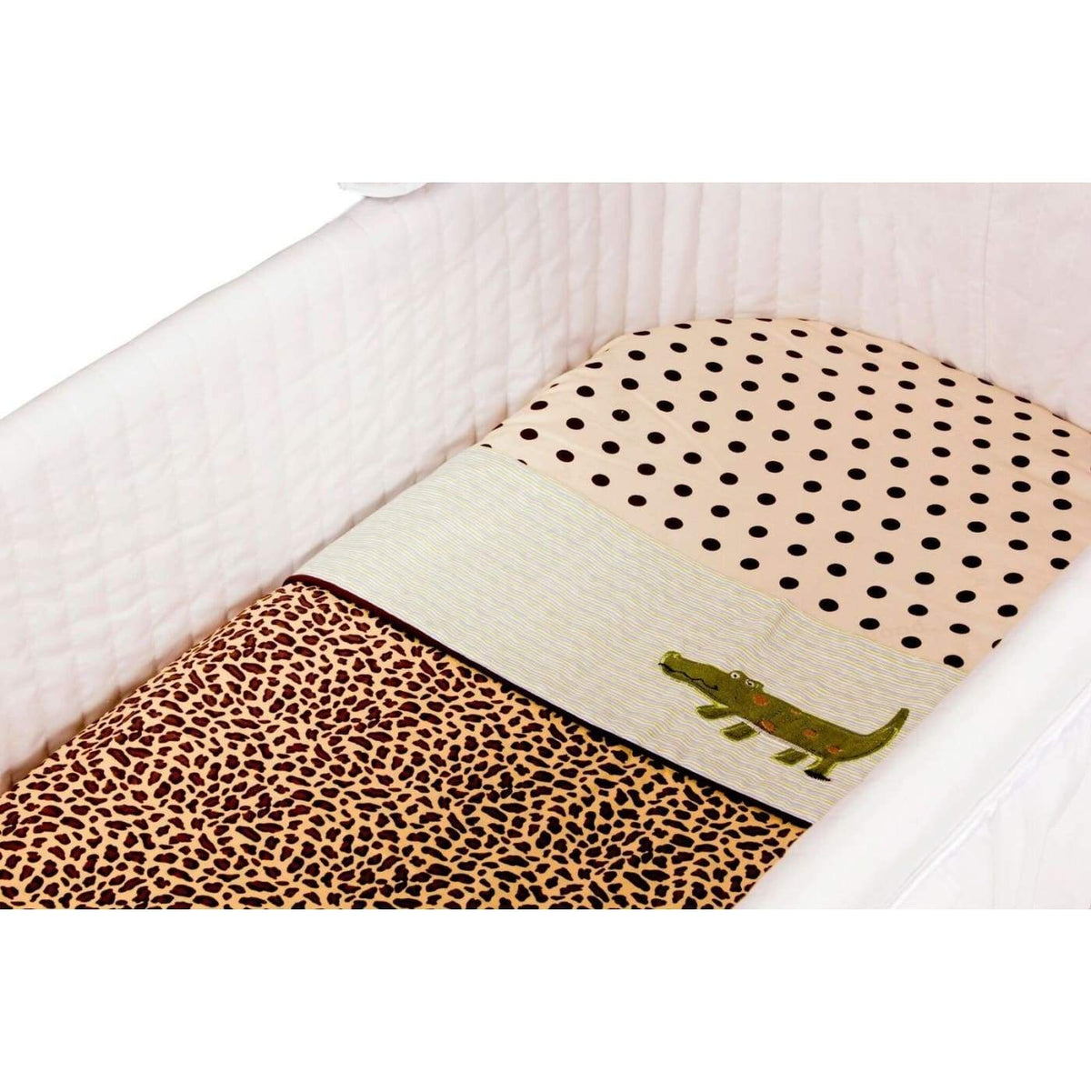 Amani Bebe Bassinet Sheet Set 3PC - Wild Things - NURSERY & BEDTIME - BASS/CRADLE/COSLEEP MANCHESTER