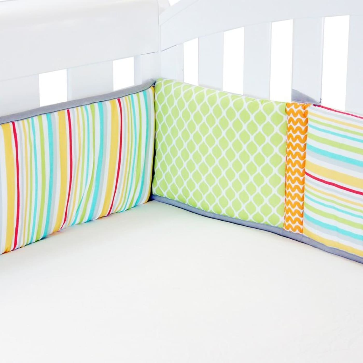 Amani Bebe Cot Bumper - Up In The Sky - NURSERY & BEDTIME - COT BUMPERS
