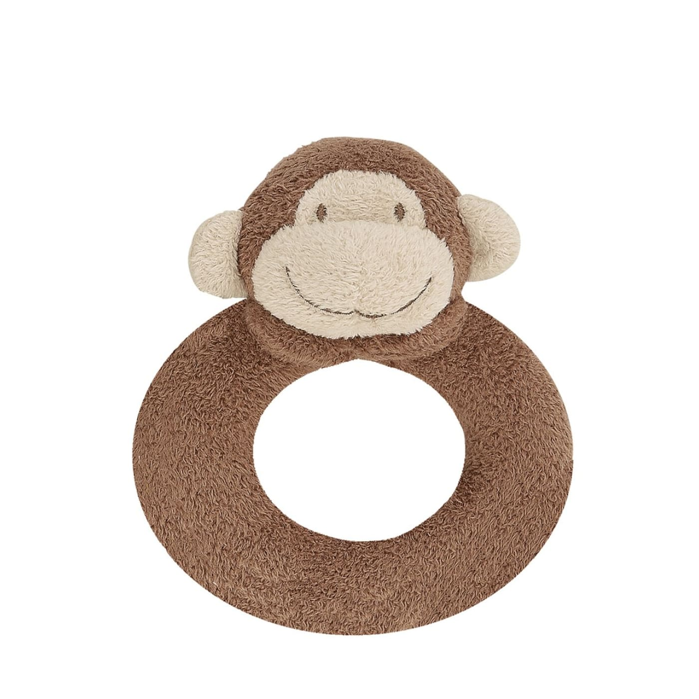 Angel Dear Ring Rattle - Brown Monkey - TOYS & PLAY - BLANKIES/COMFORTERS/RATTLES