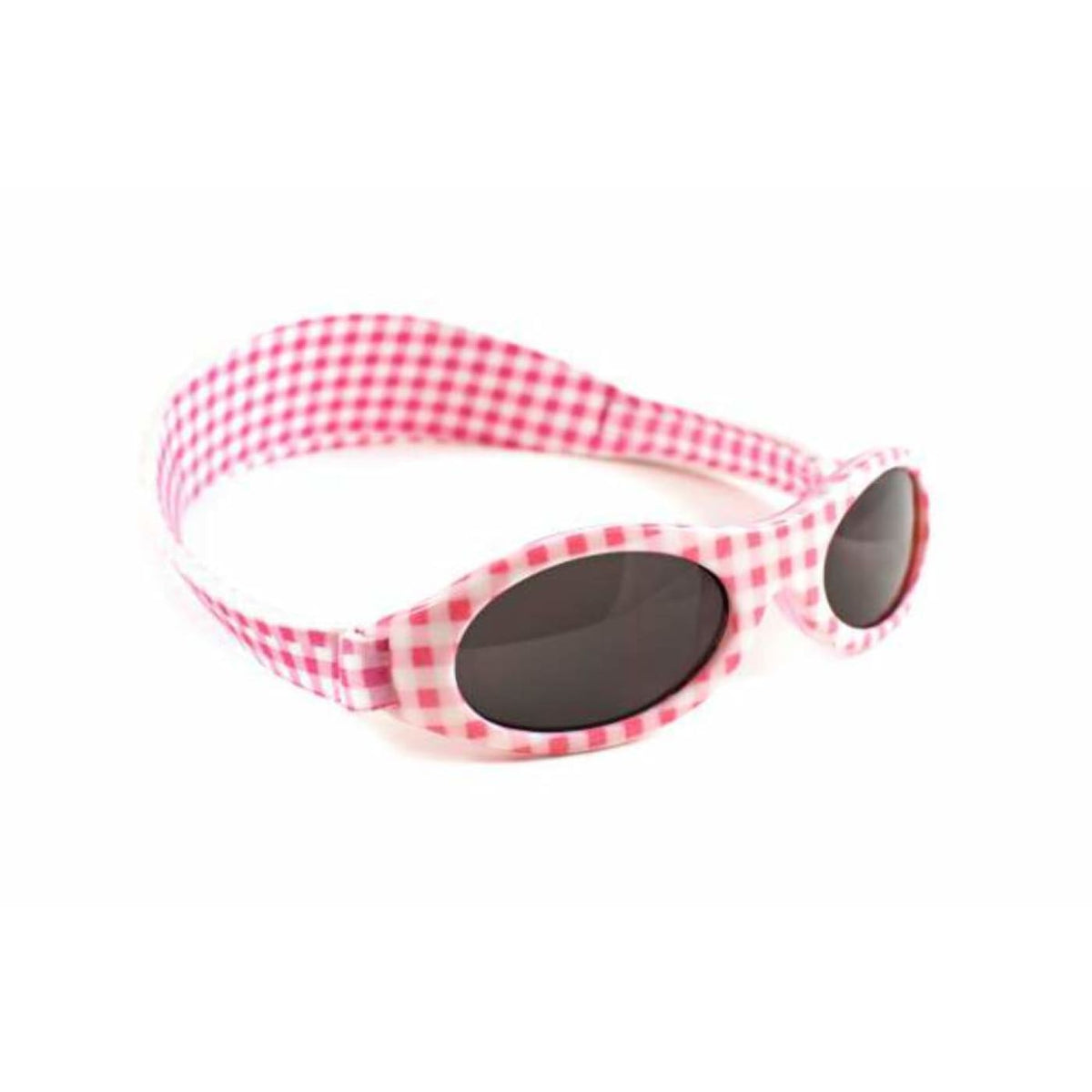 Baby Banz Adventure Sunglasses Baby - Pink Check - BABY & TODDLER CLOTHING - SUNGLASSES/EAR MUFFS