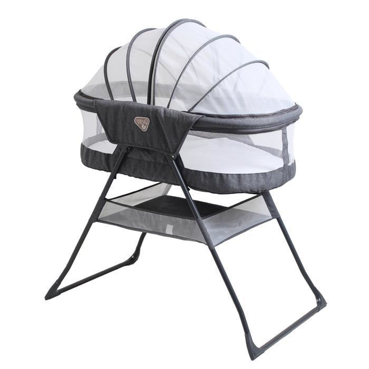Baby Inc Sonno Bassinet - Silver Birch - Silver Birch - NURSERY & BEDTIME - BASSINETS/CRADLES/CO-SLEEPERS