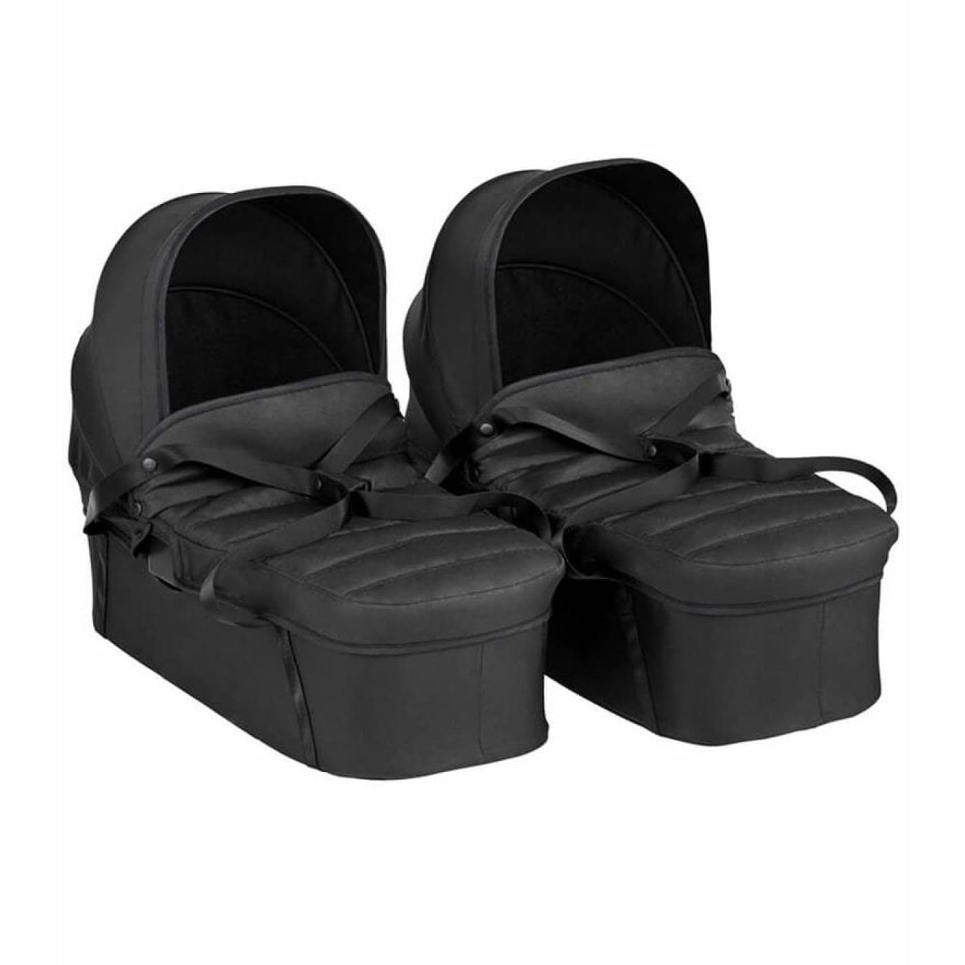 Baby Jogger City Tour 2 Double Bassinet - Jet - PRAMS & STROLLERS - BASS/CARRY COTS/STANDS