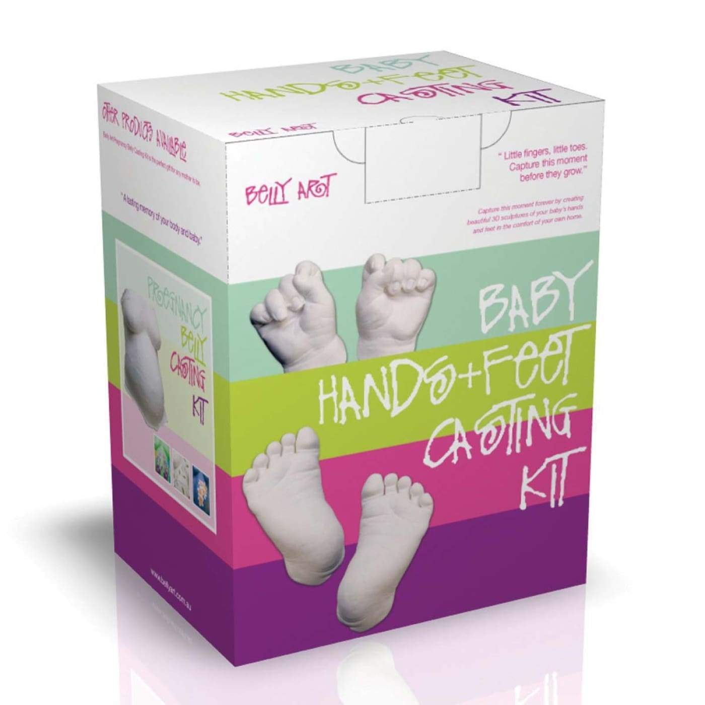 BABY MADE Baby Hands + Feet Casting Kit - GIFTWARE - KEEPSAKES