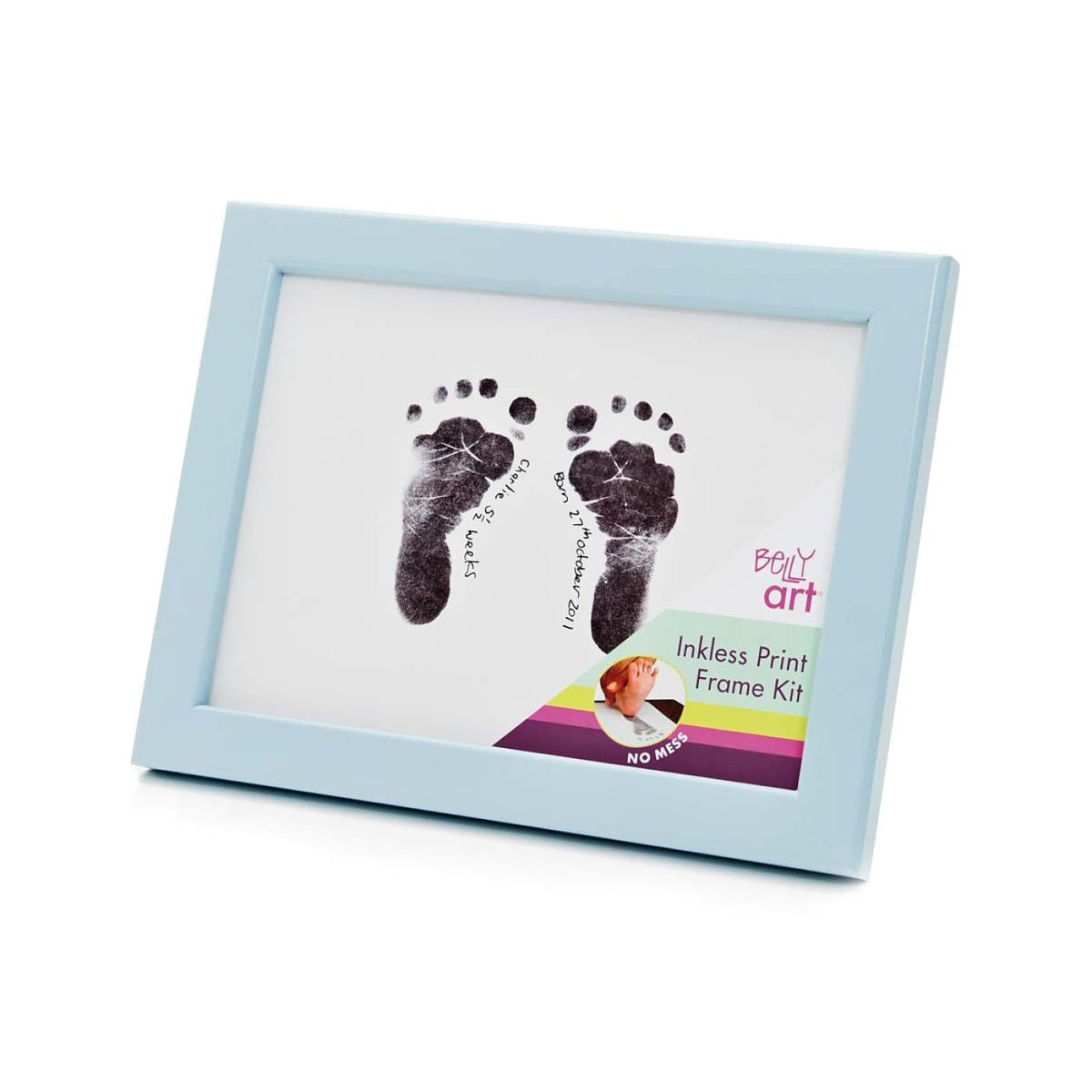 Baby Made Inkless Print Frame Kit - Blue - GIFTWARE - KEEPSAKES