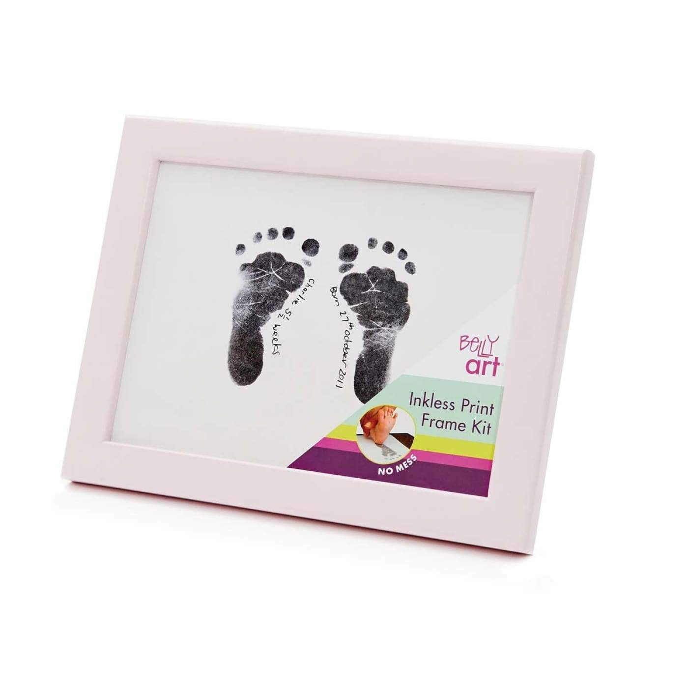 BABY MADE Inkless Print Frame Kit PINK - GIFTWARE - KEEPSAKES