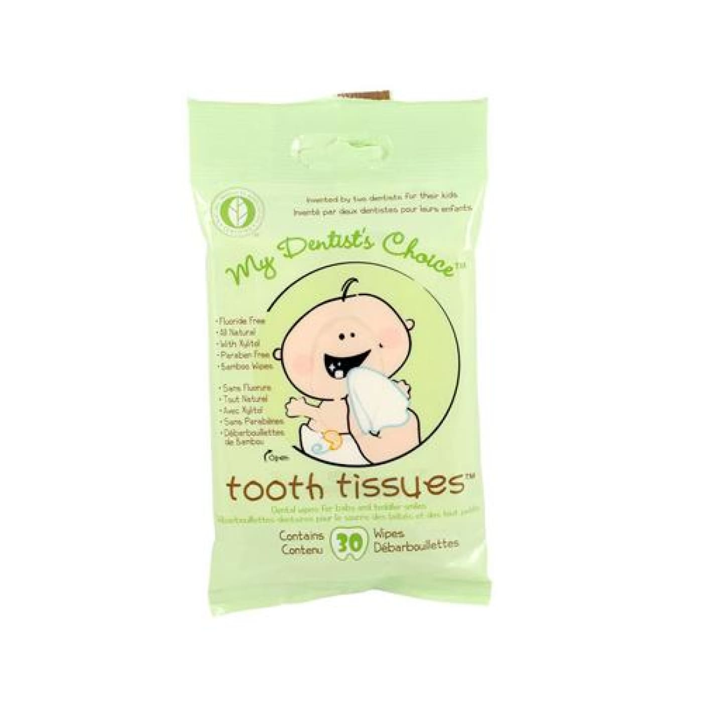 Baby Toothland Tooth Tissues - BATHTIME & CHANGING - GROOMING/HYGIENE/COSMETICS