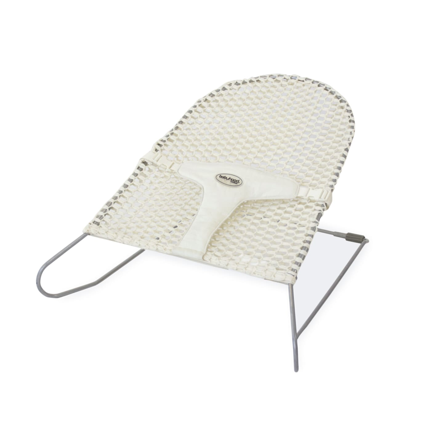 Babyhood Mesh Bouncinette - White - TOYS & PLAY - ROCKERS/BOUNCERS