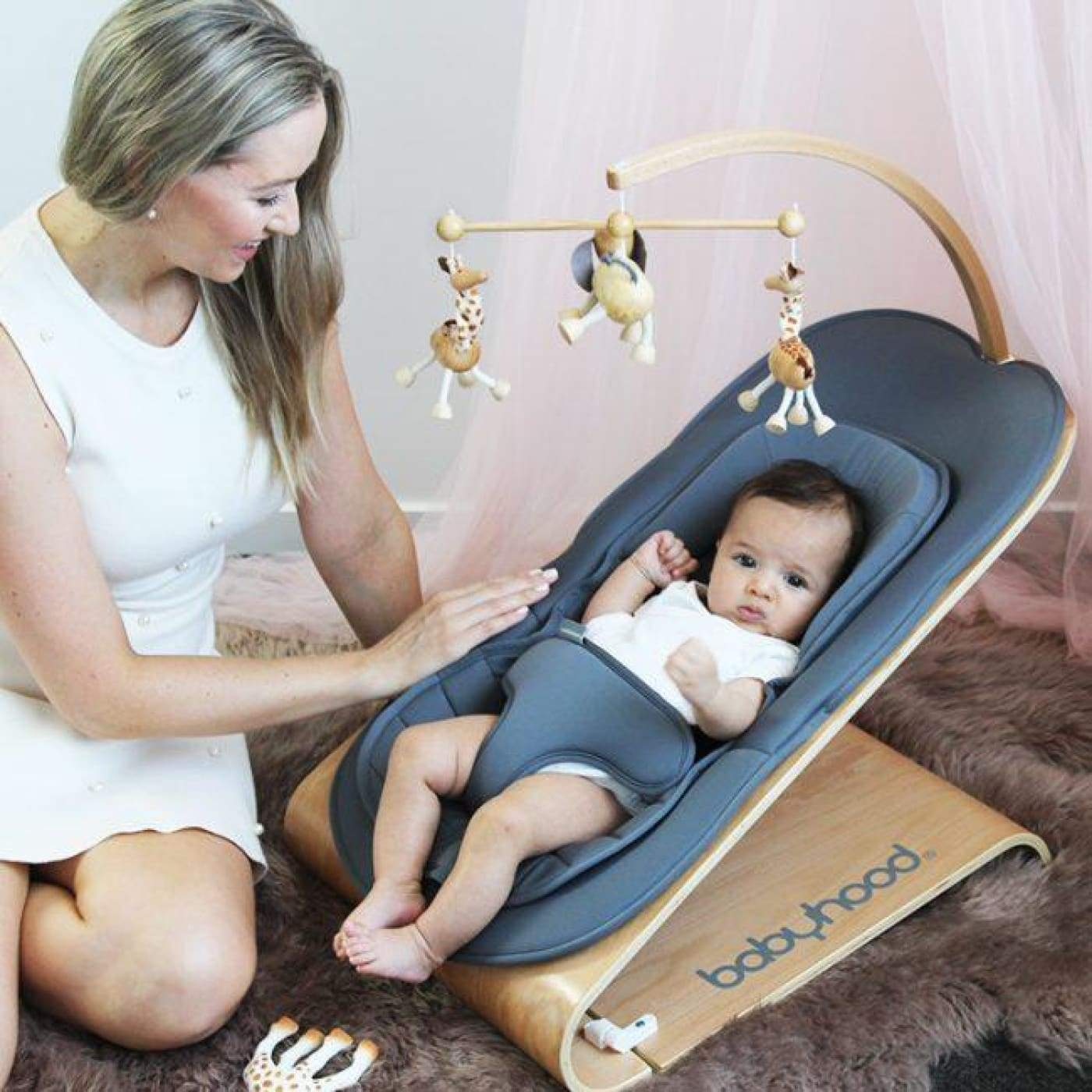 BABYHOOD Tommer Bouncer - TOYS & PLAY - ROCKERS/BOUNCERS