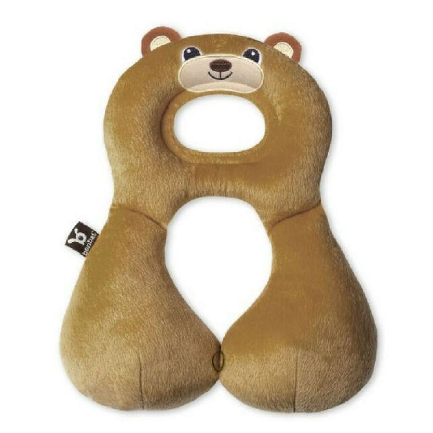 Benbat Travel Friends Head Rest - Bear 1-4YR - 1-4YRS / Bear - CAR SEATS - HEAD SUPPORTS/HARNESS COVERS