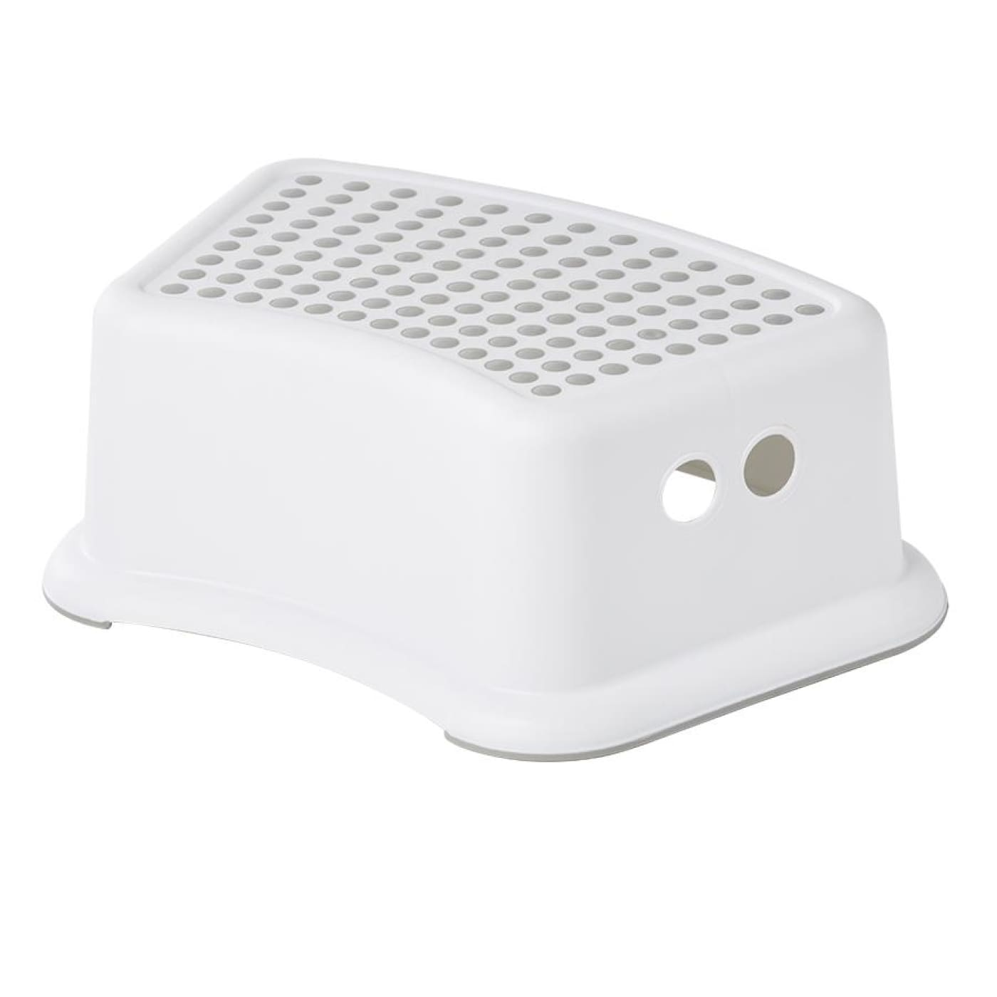 BIG SOFTIES Plastic Step Stool WHITE - BATHTIME & CHANGING - TOILET TRAINING/STEP STOOLS
