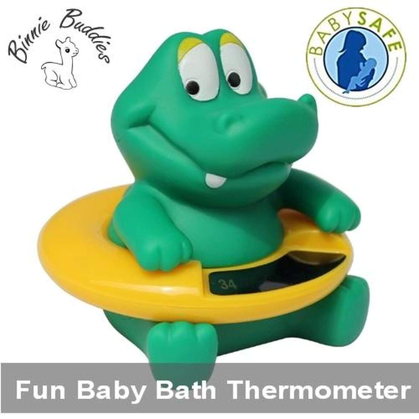 Binnie Bath Thermometer - Crockie - HEALTH & HOME SAFETY - THERMOMETERS/MEDICINAL