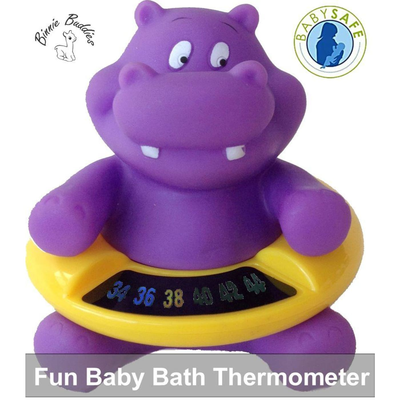 Binnie Bath Thermometer - Hippo - HEALTH & HOME SAFETY - THERMOMETERS/MEDICINAL