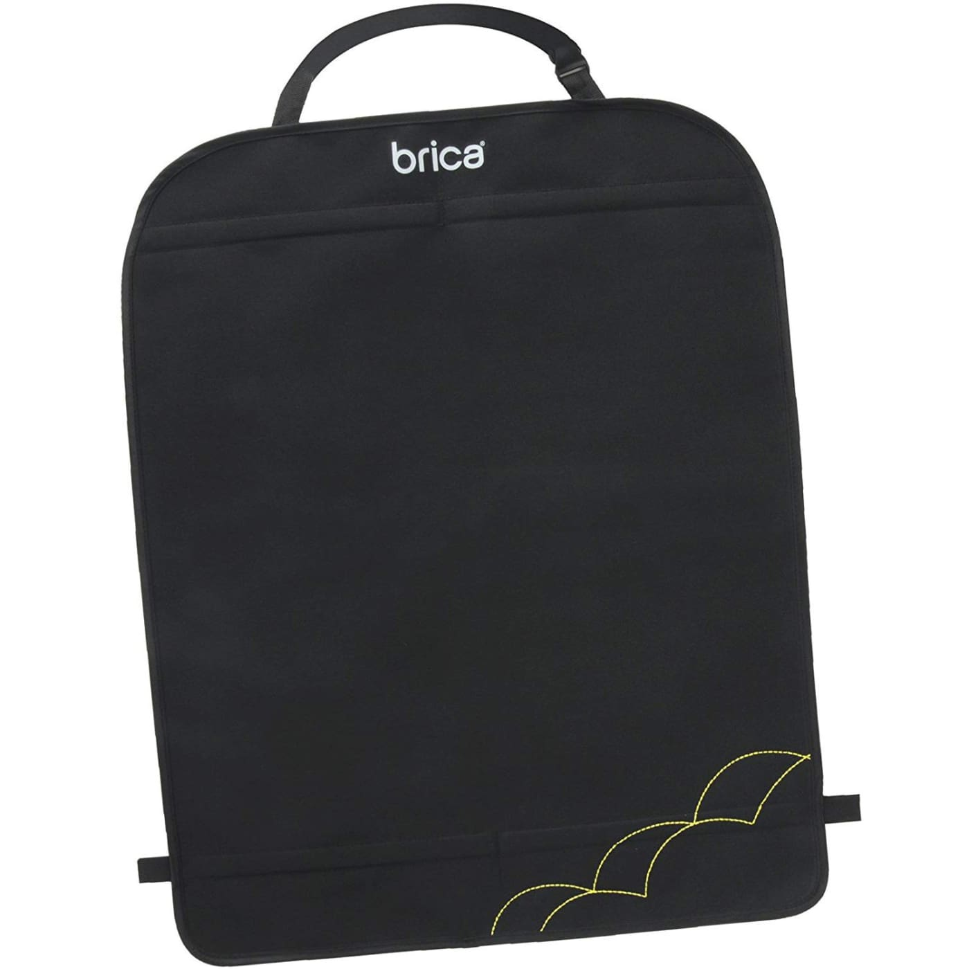 Brica Kick Mats - Black - Black - CAR SEATS - SEAT PROTECTORS/MIRRORS/STORAGE