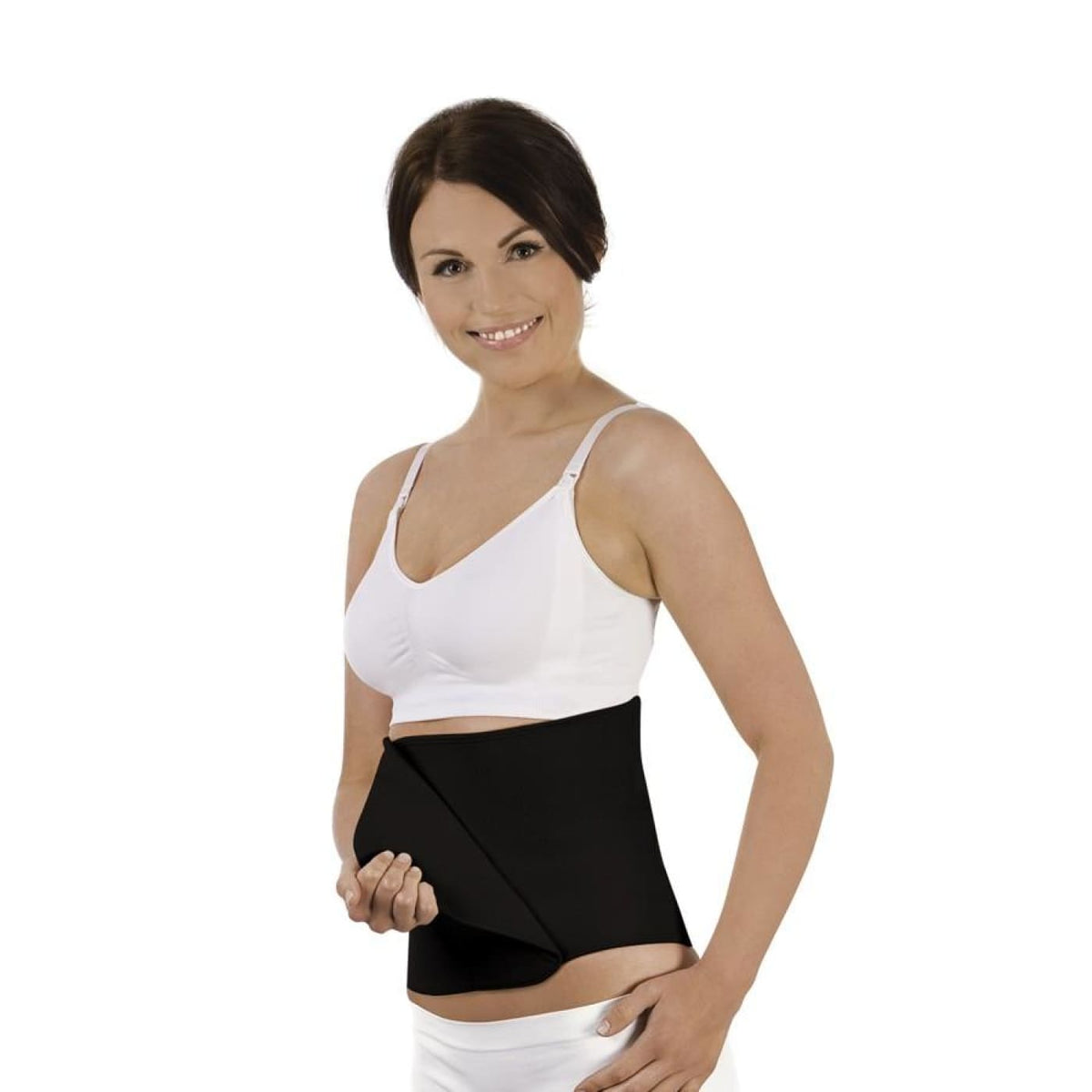 Carriwell Belly Binder - Black L/XL - FOR MUM - MATERNITY SUPPORT GARMENTS (PRE/POST)
