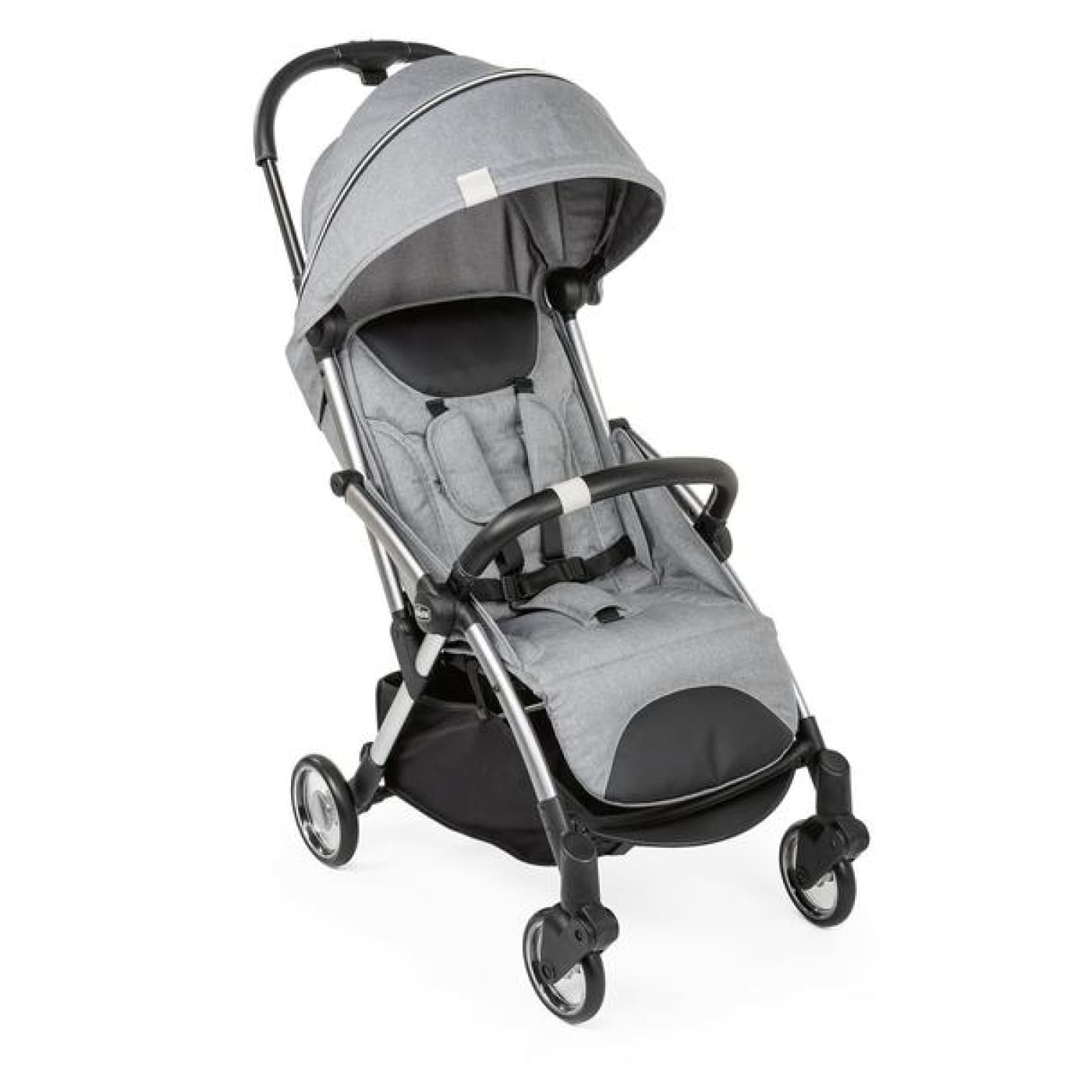 Chicco Goody Stroller - Cool Grey - Cool Grey - PRAMS & STROLLERS - COMPACT/TRAVEL