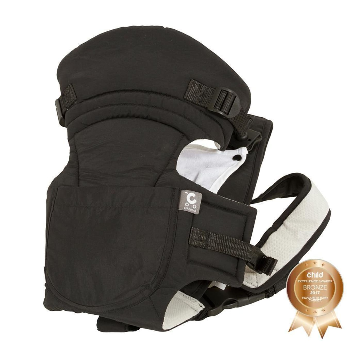 Childcare Baby Carrier - Black - Black - ON THE GO - BABY CARRIERS/SLINGS