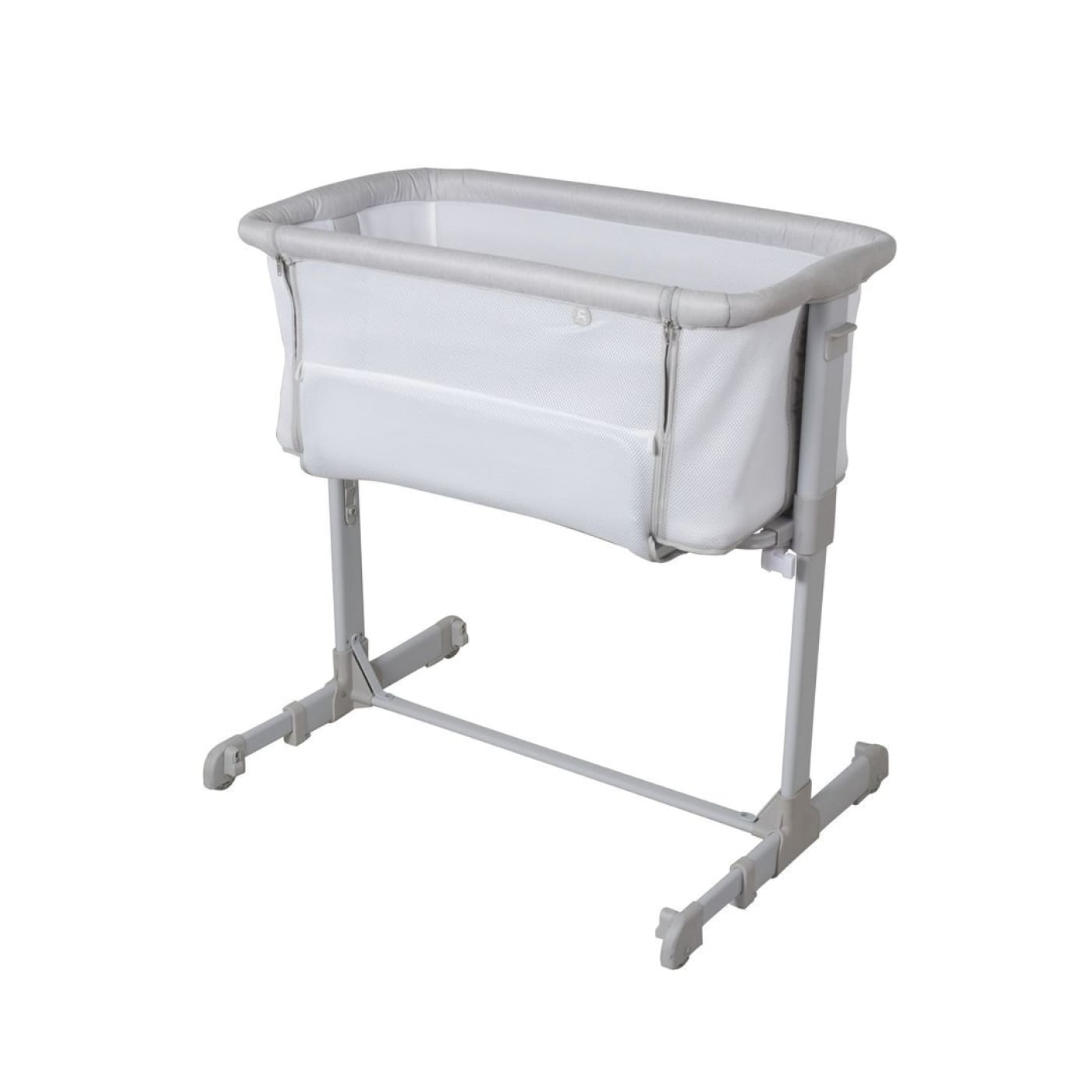 Childcare Doze Breathable Bedside Sleeper - Silver - NURSERY & BEDTIME - BASSINETS/CRADLES/CO-SLEEPERS