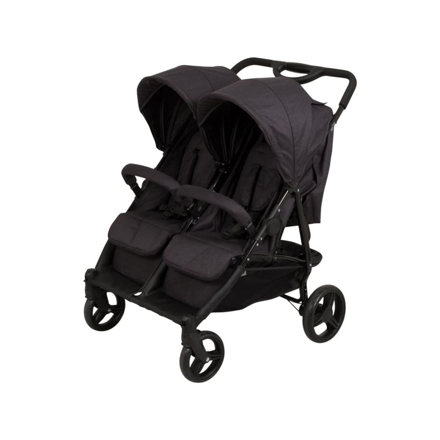 Childcare Dupo Twin Stroller - Cinder - Cinder - PRAMS & STROLLERS - 4 WHEEL CONV TO 2/TSC