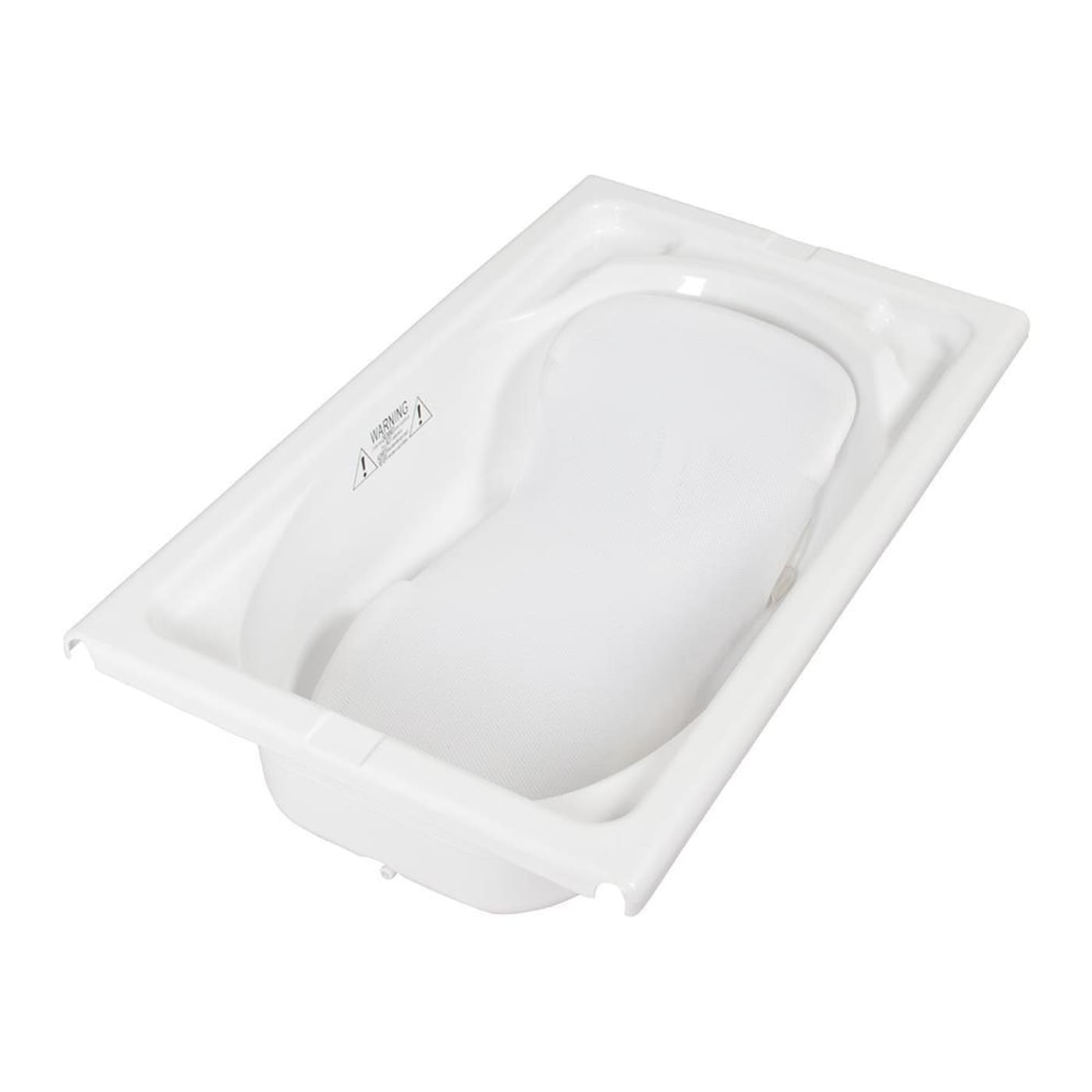 Childcare Ezi Bath Support - White - White - BATHTIME & CHANGING - BATH SUPPORTS/SEATS