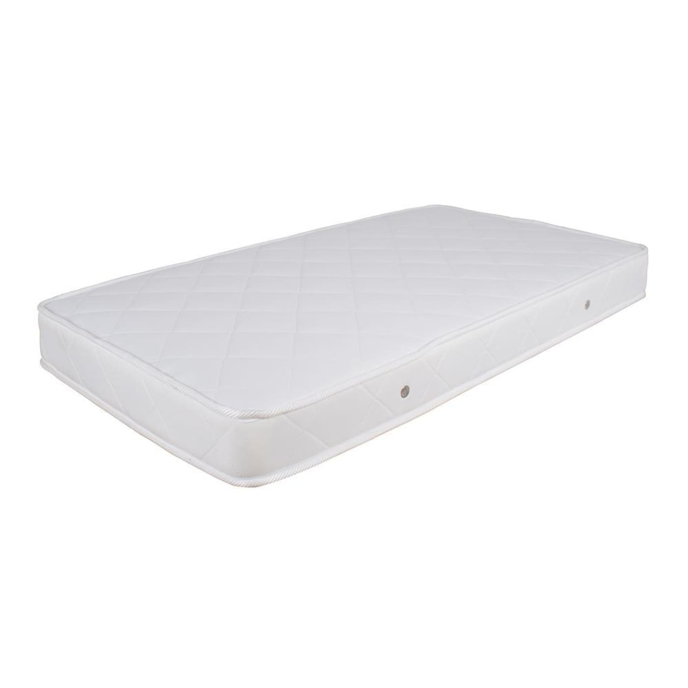 Childcare Innerspring Mattess - White - White - NURSERY & BEDTIME - COT MATTRESSES