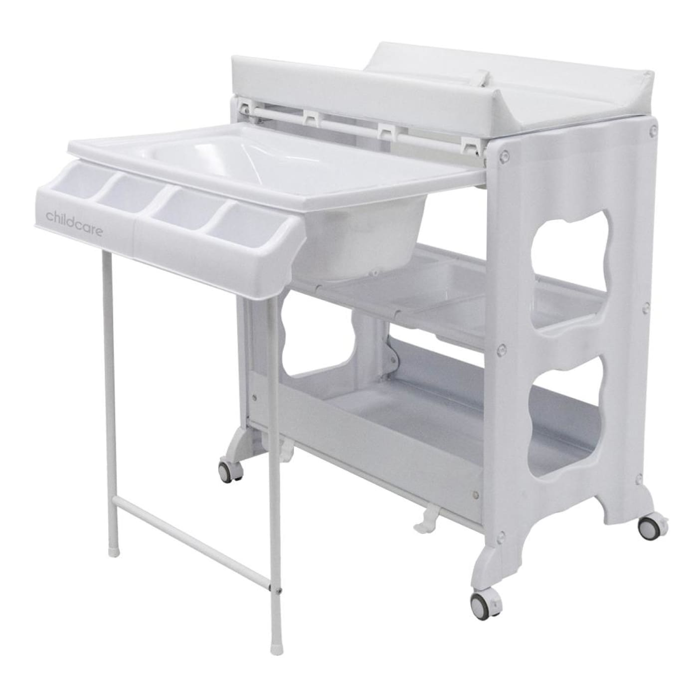 Childcare Montana Change Centre - White - White - BATHTIME & CHANGING - BATH/BATH STANDS