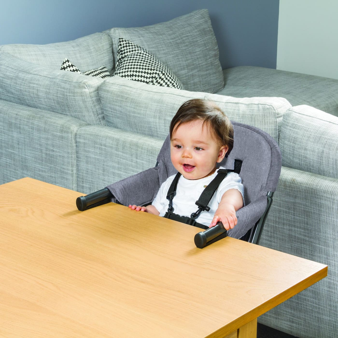 Childcare Primo Hook-On Highchair - Moon Mist - Moon Mist - NURSING & FEEDING - HIGH CHAIRS/BOOSTER SEATS