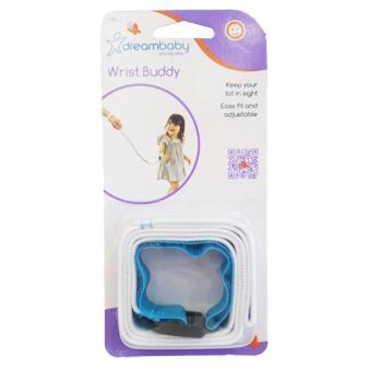 Dreambaby Wrist Buddy - Blue - ON THE GO - SAFETY HARNESSES