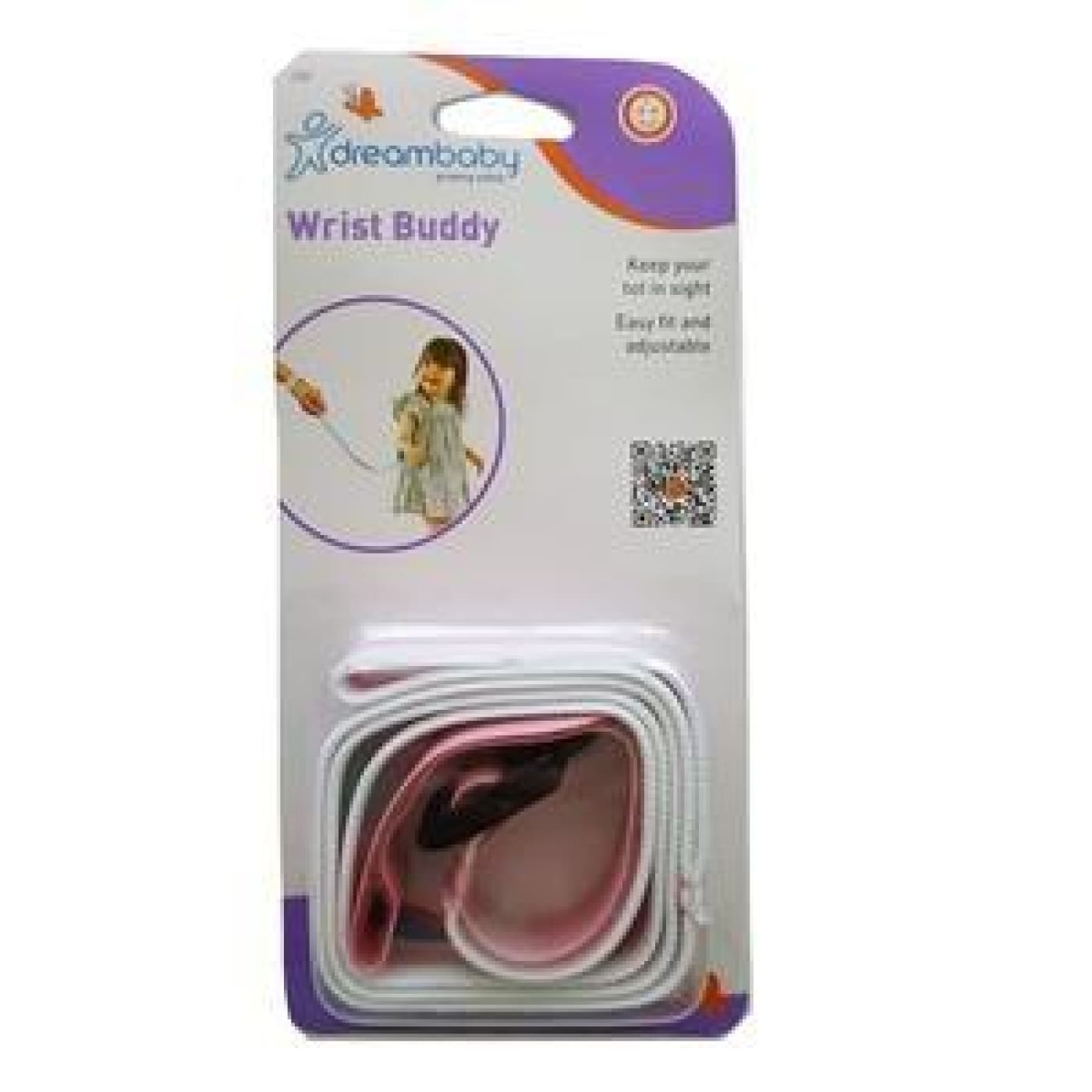 Dreambaby Wrist Buddy - Pink - ON THE GO - SAFETY HARNESSES