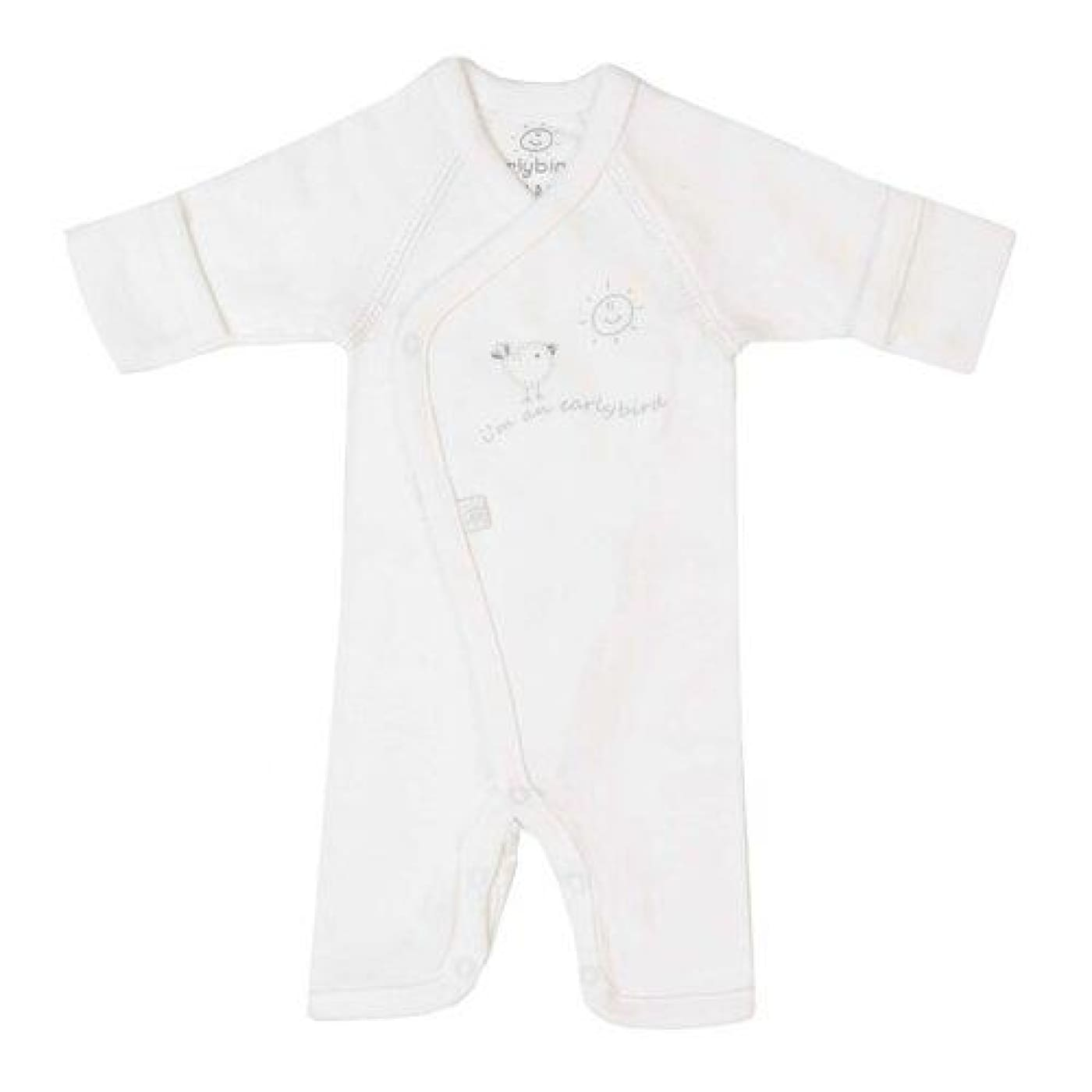 Earlybirds Jumpsuit - Ivory M - BABY & TODDLER CLOTHING - BODYSUITS/SETS/MIX-MATCH