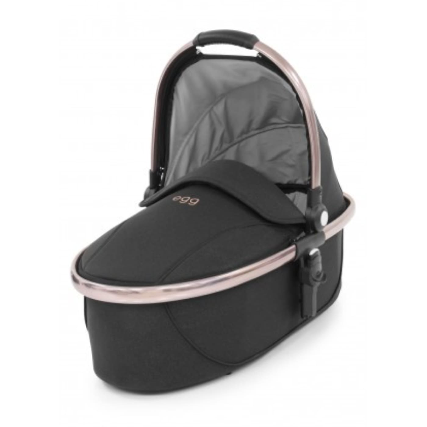 Egg Carry Cot - Diamond Black - PRAMS & STROLLERS - BASS/CARRY COTS/STANDS