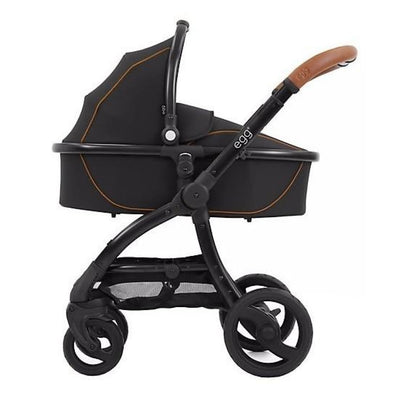 Egg Carry Cot - Espresso - PRAMS & STROLLERS - BASS/CARRY COTS/STANDS