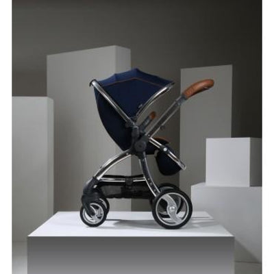 Egg Stroller - Regal Navy - PRAMS & STROLLERS - 4 WHEEL CONV TO 2/TSC